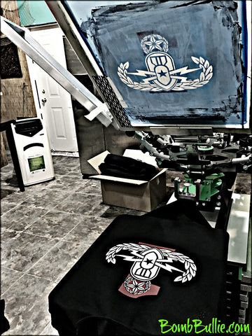 Screenprinting by BombBullie