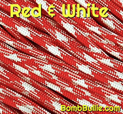 Red and White Paracord