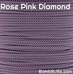 Rose Pink Diamond Paracord