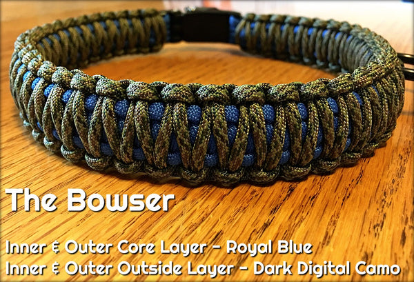 The Bowser Paracord Dog Collar