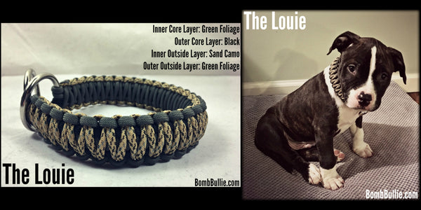The Louie Paracord Dog Collar