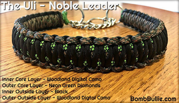 The Uli Paracord Dog Collar