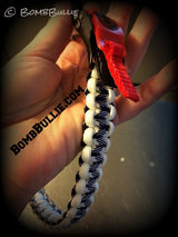 Paracord Adjustable Dog Collar - Cobra Knot - BombBullie  - 3