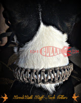 Paracord Classic Dog Collar - King Cobra Knot - BombBullie  - 6