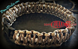 Paracord Classic Dog Collar - King Cobra Knot - BombBullie  - 2