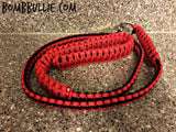 Personalized Cobra Knot Paracord Dog Leash & Collar Bundle - BombBullie  - 2