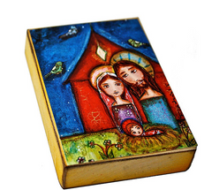 Holy Family Folk Art