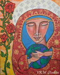 Folk Art Mother's Love