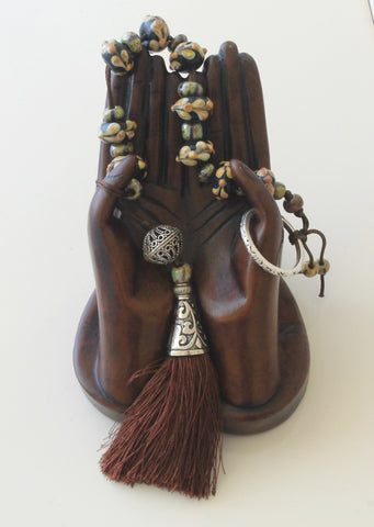 Paternoster handmade prayer beads