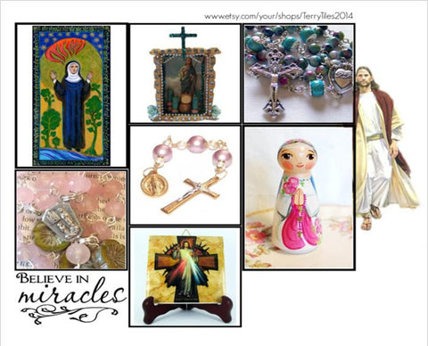 Religious Art Collection from Polyvore