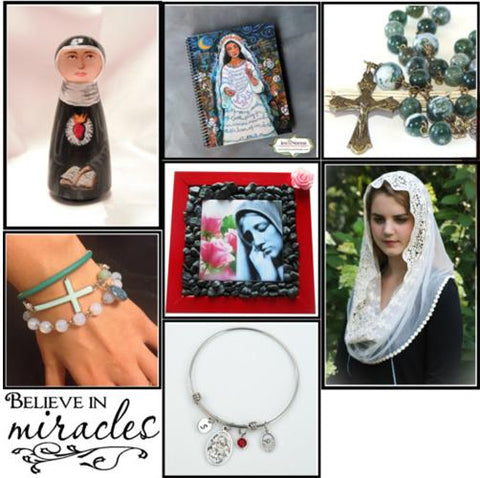 Polyvore Collection religious art