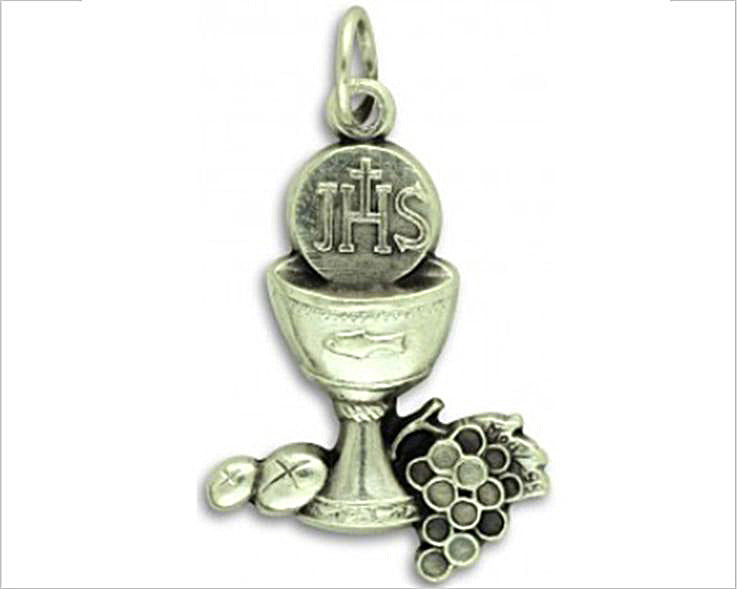First Communion Charm Medal / Pendant