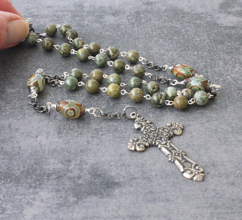 Christian mans rosary, New Zealand shop