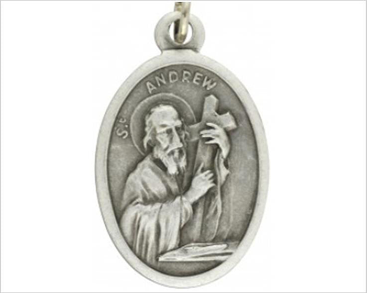 Sain Andrew medal, New Zealand Catholic Medal shop