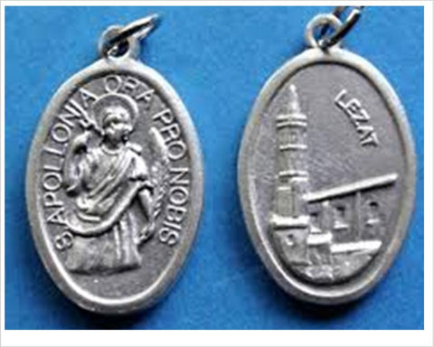 New Zealand saint medals, St Apollonia