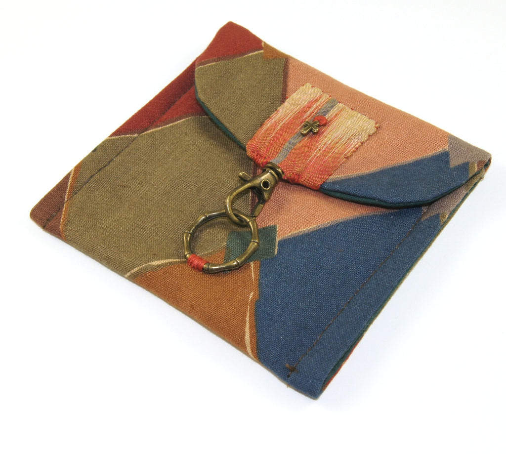 Unisex Textile Pouch for Meditation / Prayer Beads