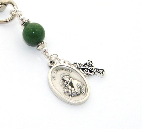 Saint Anthony keychain