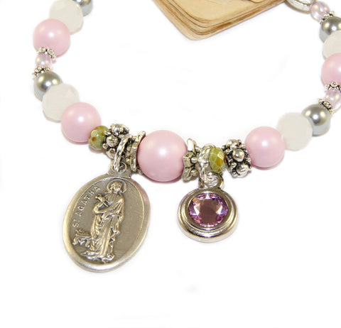Patron Saint breast cancer, healing saint