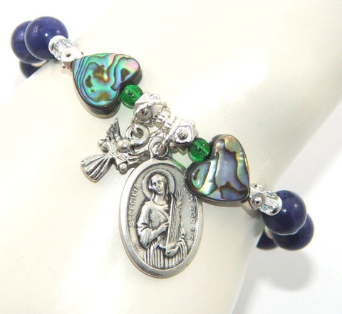 Saint Cecilia prayer bracelet