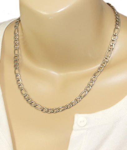 Womans stainless steel necklace chain