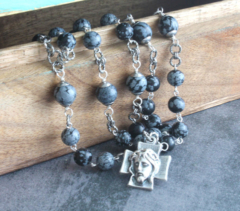 Catholic chaplet for men, Holy Face rosary