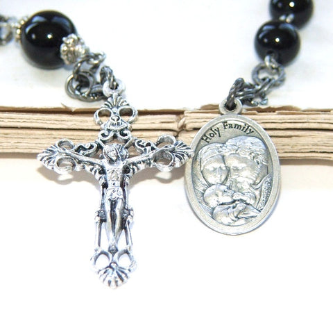 Holy Family 1st communion rosary chaplet