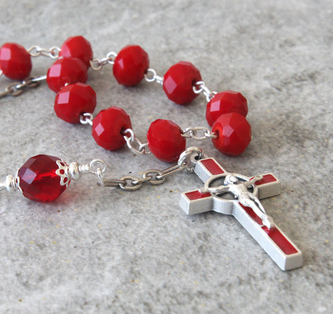 Handmade Catholic rosaries from New Zealand