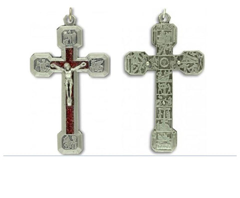 Station of the Cross Crucifix, 6.5cm