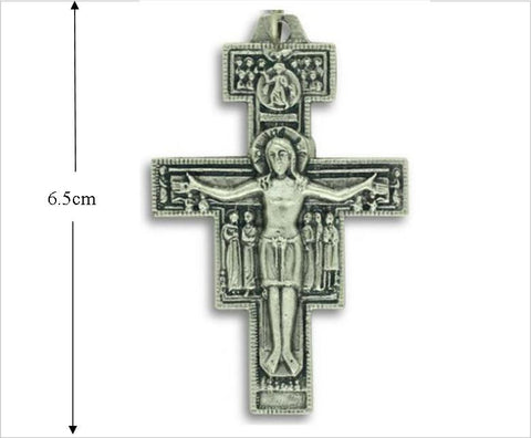 San Damiano Cross, XL 6.5cm tall