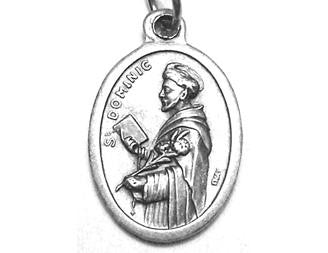 St Dominic Medal, Patron Saint of Astronomy & Astronomers