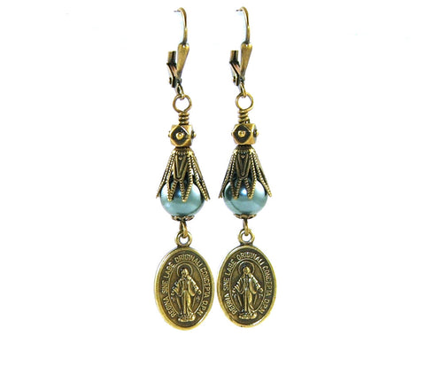 New Zealand Catholic earrings