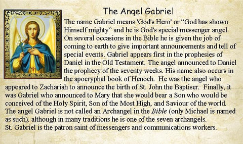 Info for Gabriel the Archangel