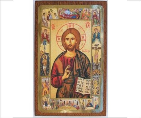 Religious Icon, Christ the Teacher