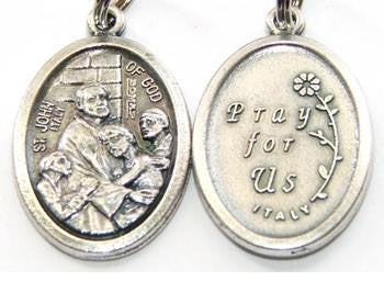Saint John of God medal