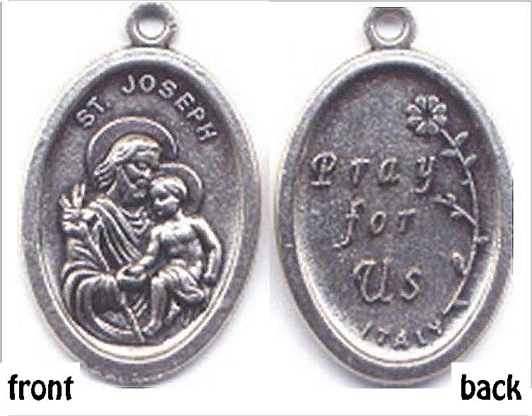 St Joseph Medal, Patron Saint of Fathers, a Happy Death, Real Estate Sales,