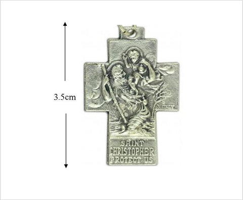 St Christopher & Holy Family Cross