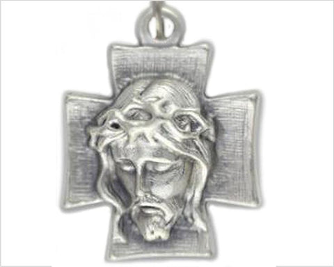 NZ Catholic Shop, Jesus cross medal pendant