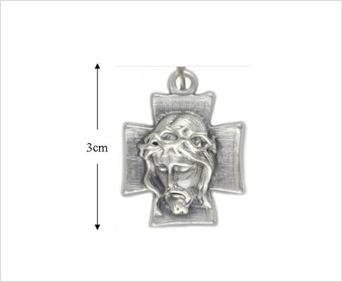 Holy Face of Jesus Cross / Medal