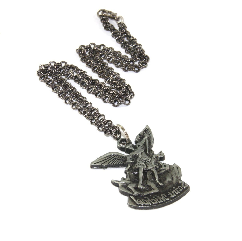 Saint Michael pendant, New Zealand Catholic shop
