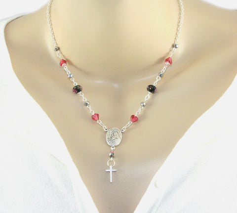 Saint Rita Necklace, Patron Saint of Hopeless Causes