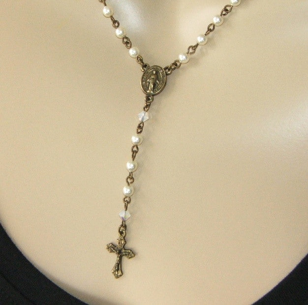 Rosary necklace, Miraculous Medal