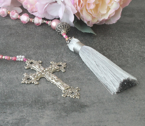 tassel paternoster, renaissance middle ages style