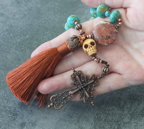 New Zealand historic rosaries, handmade paternoster prayer beads