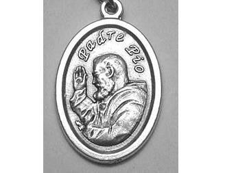 Padre Pio Medal, Patron Saint of Civil Defence Volunteers & Adolescents