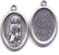 St Peregrine Medal, Patron Saint of Cancer Patients