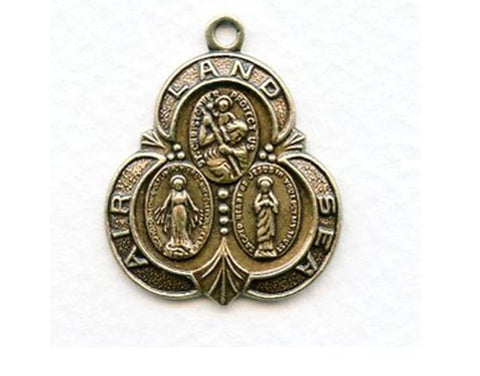 St Christopher Land Sea Air Medal, Bronze