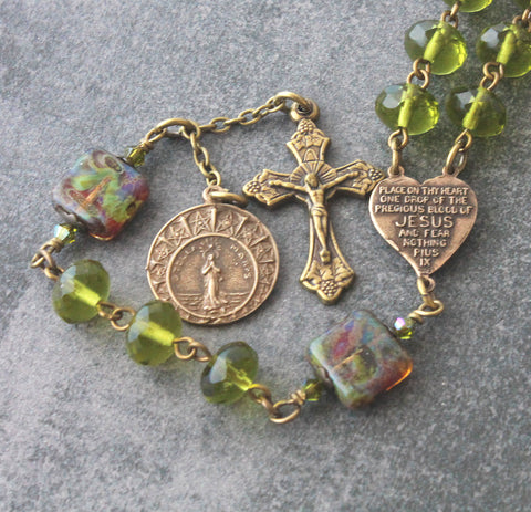 Stella Maris rosary, 6 decades, New Zealand made