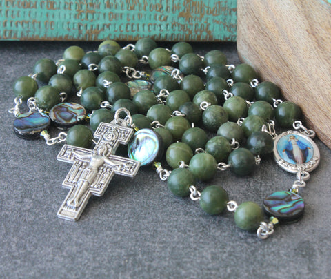 Our Lady of Grace rosary, New Zealand Catholic shop