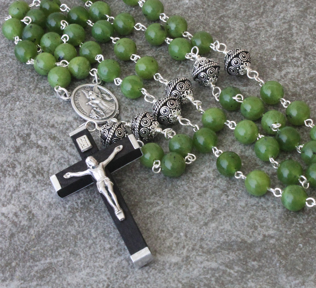 St Michael & Guardian Angel Greenstone Rosary