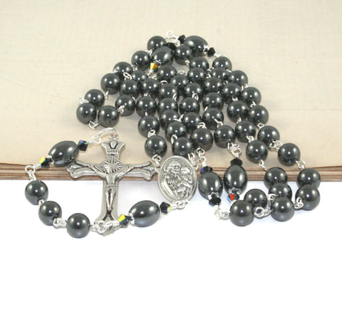 Hematite Catholic Rosary, Saint Joseph Center